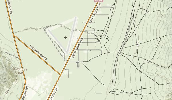 Illipah Reservoir Recreation Area Map