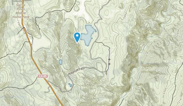 Indian Creek Recreation Area Map