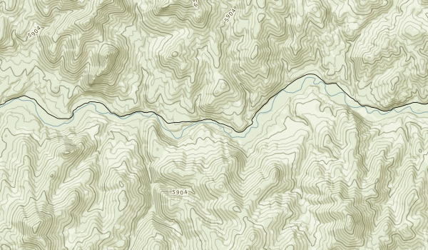 South Fork Owyhee River Map