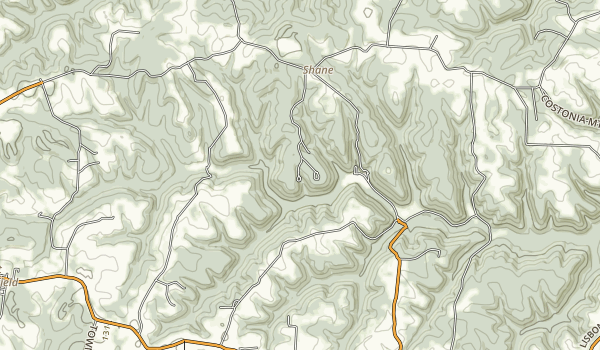 Jefferson Lake State Park Map
