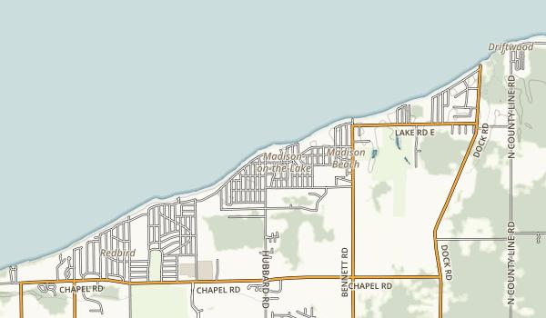 Madison Park Map