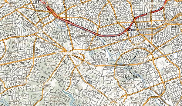Upton Hill Regional Park Map