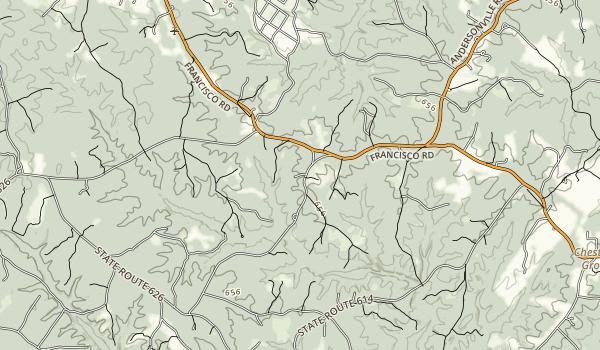 Potomac Overlook Regional Park Map