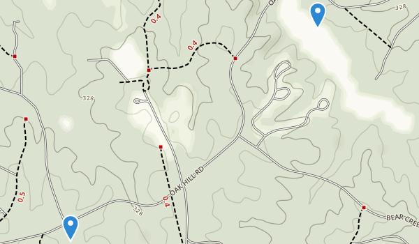 Bear Creek Lake State Park Map