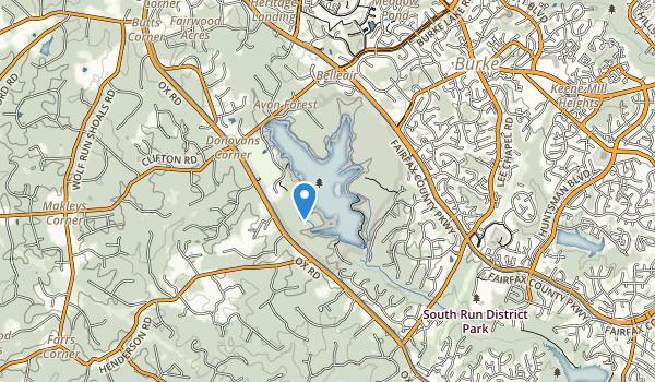 Burke Lake Park Map