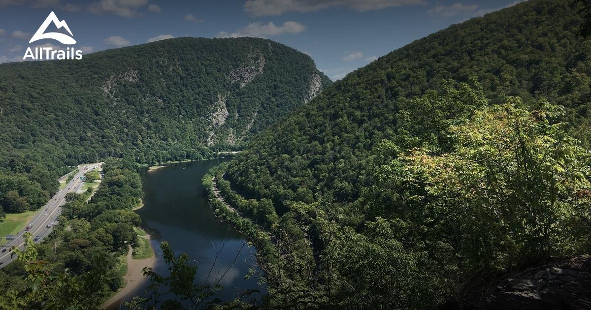 Best Backpacking Trails In Delaware Water Gap National Recreation Area Pennsylvania Alltrails