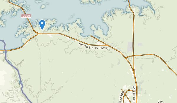 Amistad National Recreation Area Map
