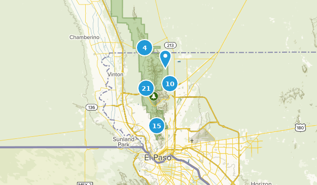 Map Of Texas Mountain Ranges.Best Trails In Franklin Mountains State Park Texas Alltrails