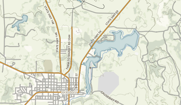 Lost Creek Reservoir State Trailway Map