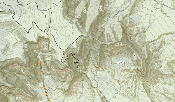 Virgin River Canyon Recreation Management Area Map