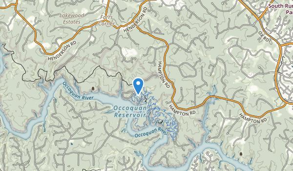 Fountainhead Regional Park Map