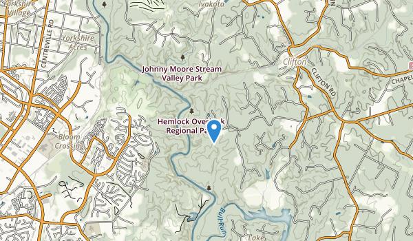 Hemlock Overlook Regional Park Map