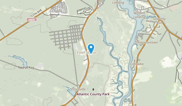 Estell Manor Park Map
