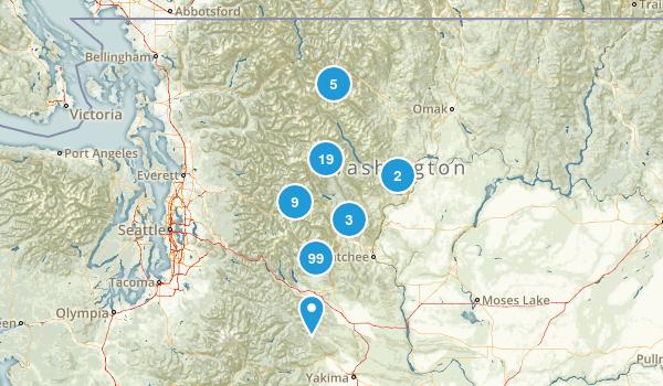 Wenatchee National Forest Map
