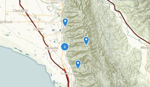 East Mountain Wildrness Park Map