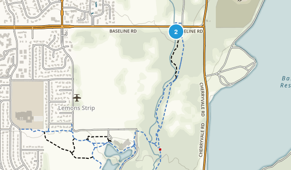 East Boulder Community Park Map