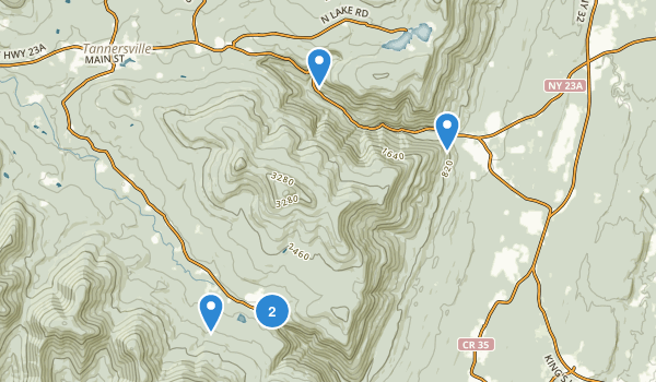 Kaaterskill Wild Forest Map