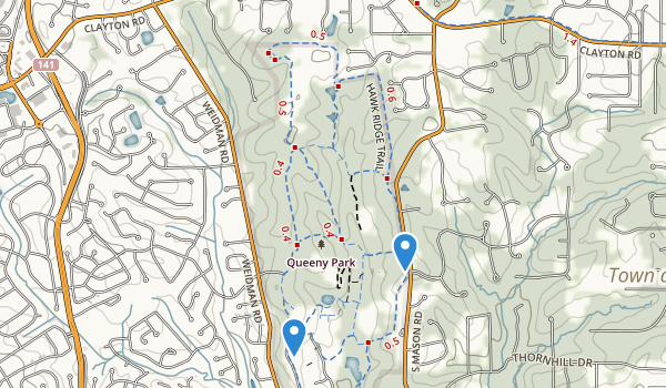 Edgar M Queeny County Park Map
