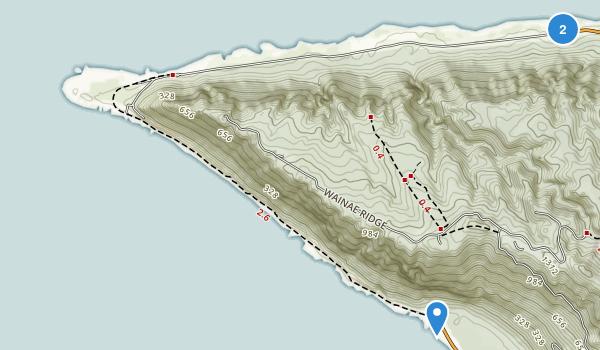 Ka'ena Point State Park Map