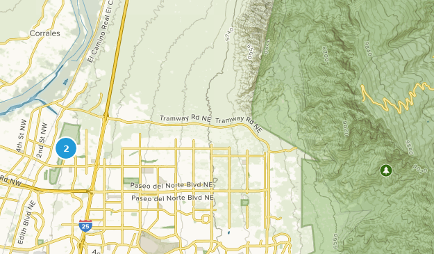 Ballon Flesta Park Map