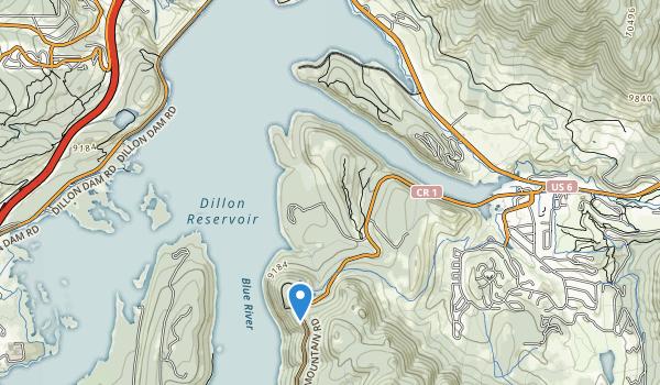 Swan Mountain Recreation Area Map