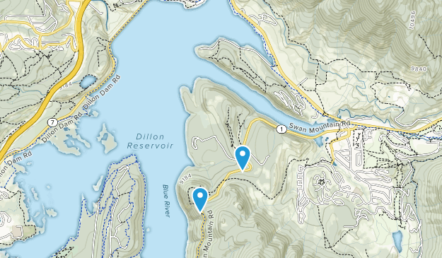 Swan Mountain Recreation Area Map