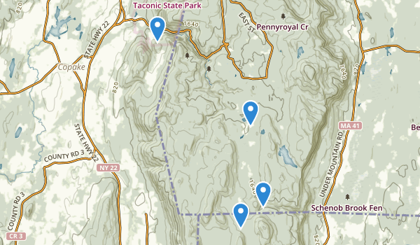 Mt Washington State Forest Map