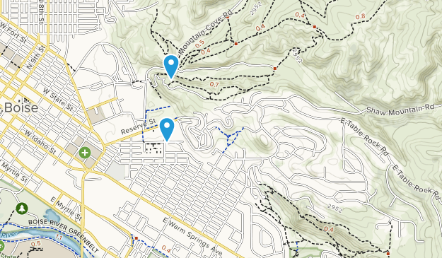 Military Reserve Park Map