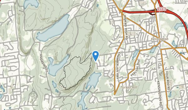 Ragged Mountain Memonal Preserve Map