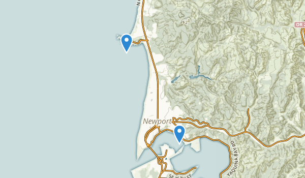 trail locations for Big Creek Park