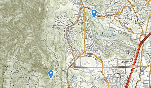 Ute Valley Park Map