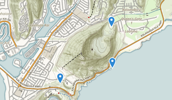 Koko Head Park Map