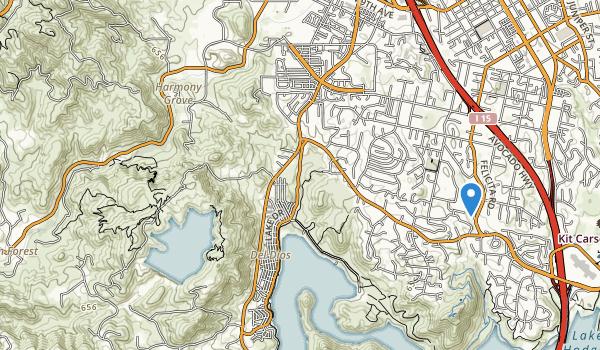 Felidta Park Map