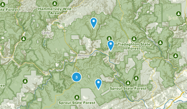 Sproul State Forest Map
