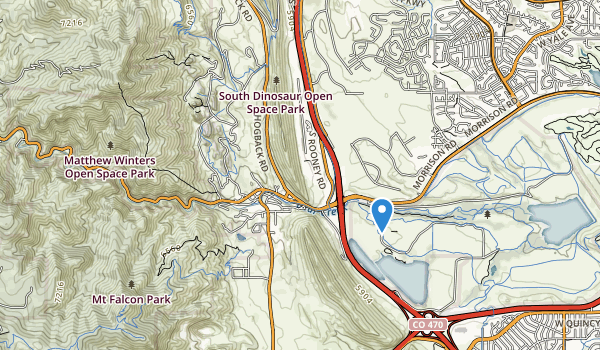 Bear Creek Canyon Park Map