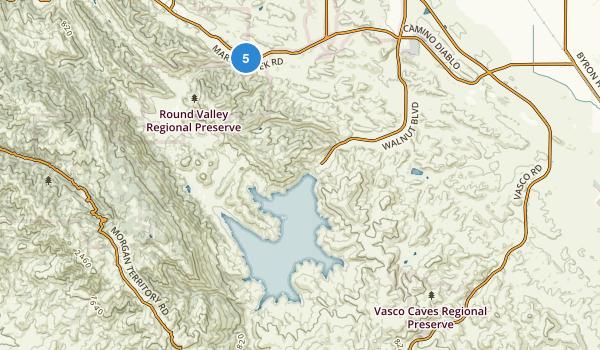 Round Valley Regional Park Map