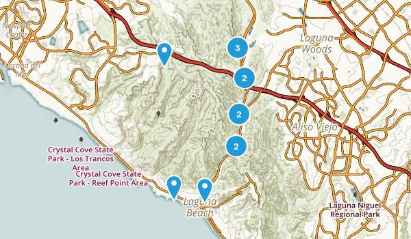 Laguna Coast Wilderness Park Map