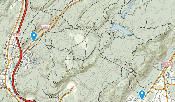 Dater Mountain County Park Map