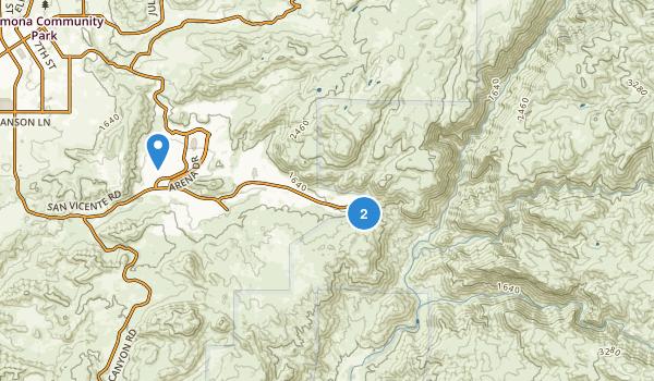 Swartz Canyon County Park Map