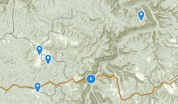 trail locations for Scott State Forest