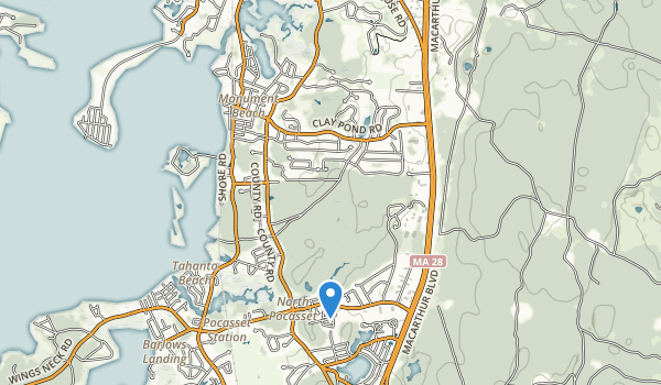 Shore Road Ballfied Conservation Area Map
