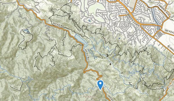 Sierra Azul Open Space Preserve Map