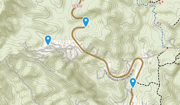 Summit Valley Edmund D Edelman Park Map