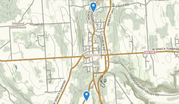 Marcellus County Park Map