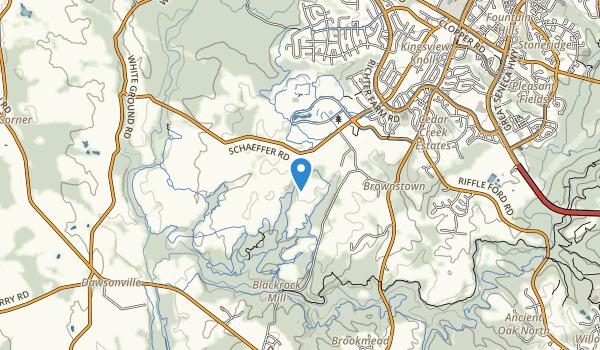 South Germantown Rec Park Map