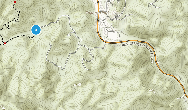 Red Rock Canyon Park Map