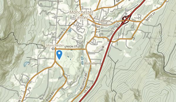 trail locations for Dana Thompson Recreational Park