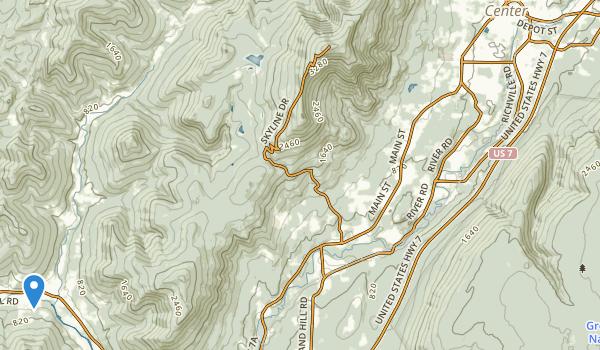 Dana Thompson Recreational Park Map