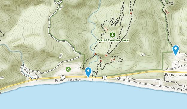Corral Canyon Park Map