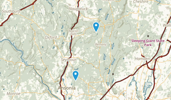 Naugatuck State Forest Map